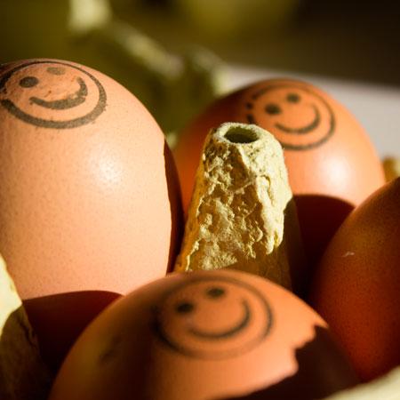 Huevos felices