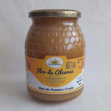 Miel de romero cruda